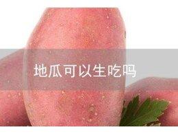 红薯可以生着吃吗