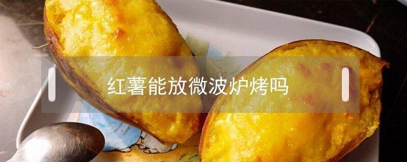 红薯能用微波炉烤熟吗