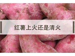 红薯是上火的还是清火的食物